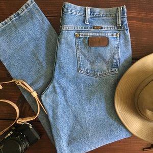 Original Wrangler High Waist Slim Fit Jeans